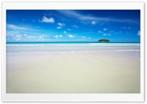 Beach Island HD Wide Wallpaper for Widescreen