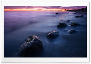 Beach Long Exposure HD Wide Wallpaper for Widescreen