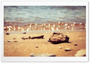 Beach Pebbles HD Wide Wallpaper for Widescreen