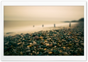 Beach Pebbles Autumn HD Wide Wallpaper for Widescreen