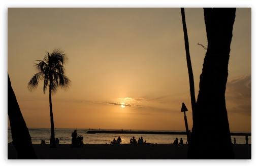 Ipad Wallpaper Beach Scenes: Beach Scene Sunset 10 4K HD Desktop Wallpaper For 4K Ultra
