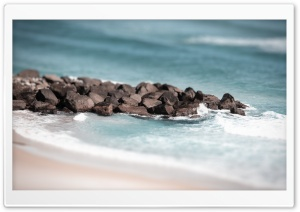 Beach Tilt Shift Ultra HD Wallpaper for 4K UHD Widescreen desktop, tablet & smartphone