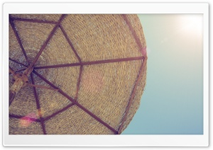 Beach Umbrella HD Wide Wallpaper for Widescreen