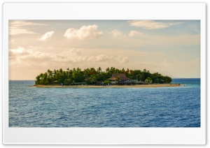 Beachcomber Island Fiji HD Wide Wallpaper for Widescreen