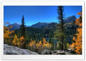 Bear Lake, Rocky Mountain National Park, Colorado HD Wide Wallpaper for 4K UHD Widescreen desktop & smartphone