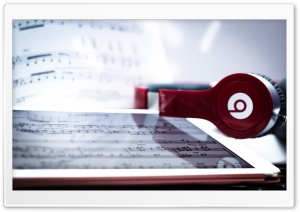 Beats by Dre and Apple HD Wide Wallpaper for 4K UHD Widescreen desktop & smartphone