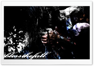 Beau Bokan - Blessthefall - By ANGUSXRed HD Wide Wallpaper for Widescreen