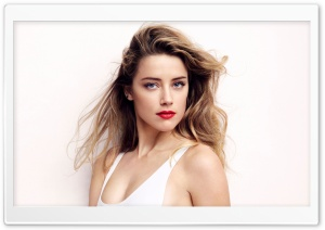 Beautiful Amber Heard HD Wide Wallpaper for 4K UHD Widescreen desktop & smartphone