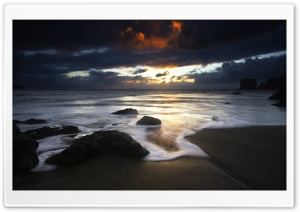 Beautiful Beach Scene Ultra HD Wallpaper for 4K UHD Widescreen desktop, tablet & smartphone