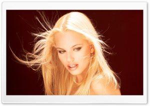 Beautiful Blonde Portrait HD Wide Wallpaper for Widescreen