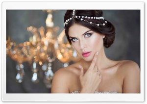 Beautiful Bride Makeup HD Wide Wallpaper for 4K UHD Widescreen desktop & smartphone