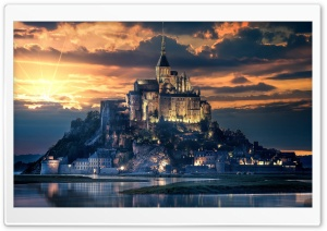 Beautiful Castle Ultra HD Wallpaper for 4K UHD Widescreen desktop, tablet & smartphone