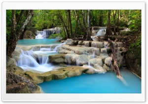 Beautiful Creek Waterfalls Ultra HD Wallpaper for 4K UHD Widescreen desktop, tablet & smartphone