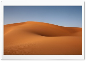 Beautiful Desert Sand Dunes