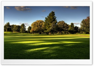 Beautiful Golf Course HD Wide Wallpaper for Widescreen