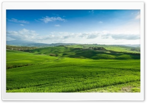 Beautiful Green Lands HD Wide Wallpaper for Widescreen