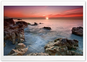Beautiful Horizon, Sunset HD Wide Wallpaper for Widescreen
