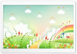 Beautiful Illustration HD Wide Wallpaper for Widescreen