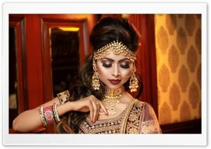 Beautiful Indian Woman Ultra HD Wallpaper for 4K UHD Widescreen desktop, tablet & smartphone