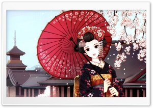 Beautiful Japanese Girl HD Wide Wallpaper for Widescreen