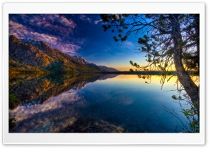 Beautiful Lake Ultra HD Wallpaper for 4K UHD Widescreen desktop, tablet & smartphone