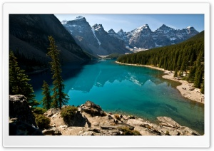 Beautiful Lake View HD Wide Wallpaper for Widescreen
