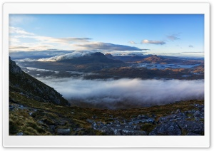 Beautiful Landscape, Torridon, Scotland HD Wide Wallpaper for 4K UHD Widescreen desktop & smartphone