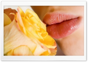 Beautiful Lips HD Wide Wallpaper for Widescreen