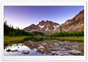Beautiful Mountain Creek HD Wide Wallpaper for Widescreen