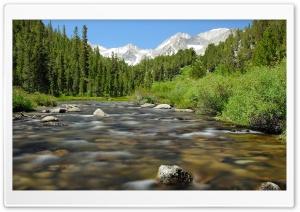Beautiful Mountain River Ultra HD Wallpaper for 4K UHD Widescreen desktop, tablet & smartphone