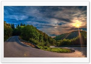 Beautiful Nature - Road HD Wide Wallpaper for Widescreen
