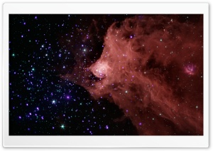 Beautiful Nebula HD Wide Wallpaper for Widescreen