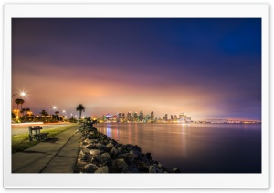 Beautiful Night City HD Wide Wallpaper for Widescreen