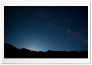 Beautiful Night Sky HD Wide Wallpaper for Widescreen