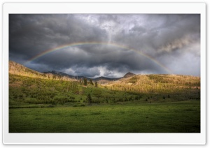 Beautiful Rainbow HD Wide Wallpaper for Widescreen