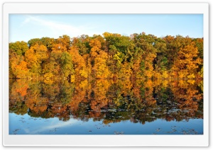Beautiful Reflection, Autumn HD Wide Wallpaper for Widescreen