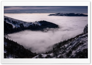 Beautiful Sea of Clouds Mountain Landscape Ultra HD Wallpaper for 4K UHD Widescreen desktop, tablet & smartphone