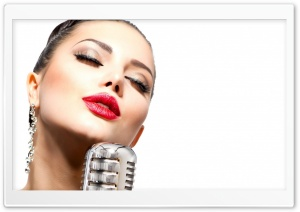 Beautiful Singer HD Wide Wallpaper for Widescreen