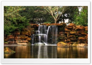 Beautiful Small Waterfall Ultra HD Wallpaper for 4K UHD Widescreen desktop, tablet & smartphone