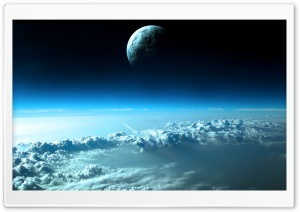 Beautiful Space View HD Wide Wallpaper for Widescreen