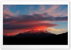 Beautiful Sunrise, Mount Timpanogos HD Wide Wallpaper for Widescreen