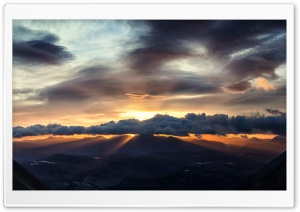 Beautiful Sunrise over Torridon HD Wide Wallpaper for 4K UHD Widescreen desktop & smartphone