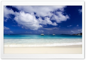 Beautiful Tropical Seascape HD Wide Wallpaper for Widescreen