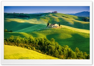 Beautiful Tuscany Landscape HD Wide Wallpaper for Widescreen