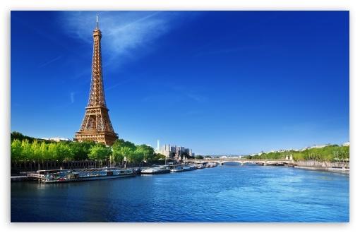 Beautiful View Of Paris Ultra Hd Desktop Background Wallpaper For 4k Uhd Tv Tablet Smartphone
