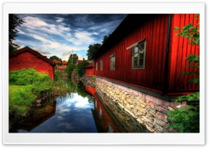 Beautiful Village HD Wide Wallpaper for Widescreen