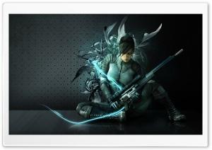 Beautiful Warrior Design HD Wide Wallpaper for Widescreen