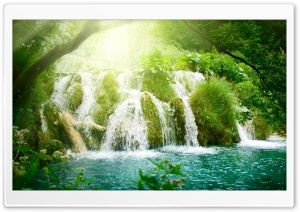 Beautiful Waterfalls HD Wide Wallpaper for Widescreen