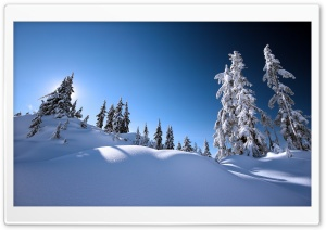 Beautiful Winter Scenery HD Wide Wallpaper for 4K UHD Widescreen desktop & smartphone