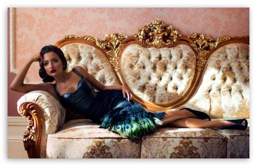 Beautiful Woman Vintage Fashion Photography Ultra Hd